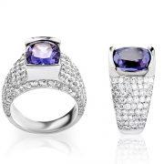custom ring diamond eli