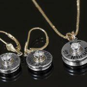 bullet diamond custom jewelry