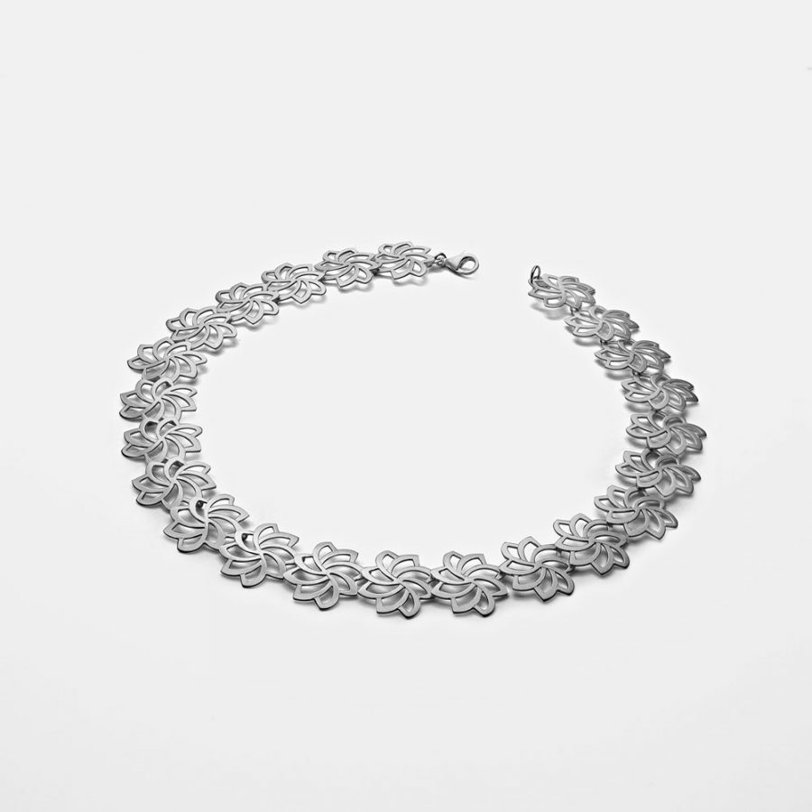 Silver Necklace by Kelim